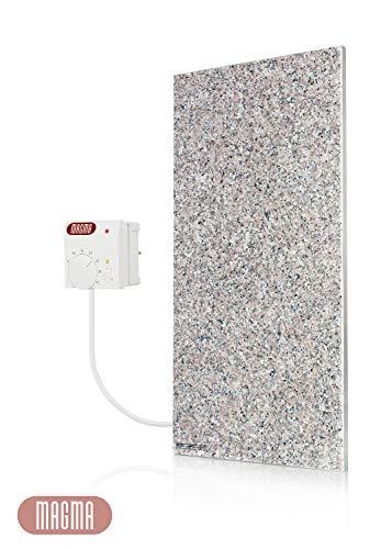 Magma Infrarotheizung 400Watt (Granit grau-beige) mit Steckdosenregler
