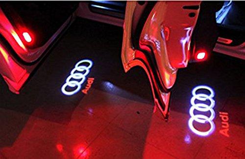 Inlink 2 Stück Autotür Logo Projektion Licht Türbeleuchtung Projektor - 6