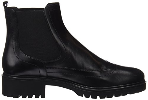 Geox Damen D Peaceful A Chelsea Boots Schwarz (Black)