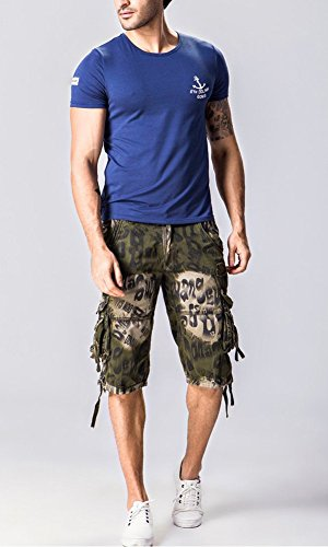 Tonwhar Cargo Shorts, Camouflage, Herren Grün - Army Grün