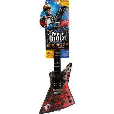 Paper Jamz Rock Guitar Series 2 - Rot (kein echtes Instrument) [UK Import]