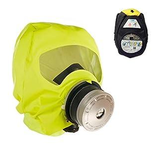 Dräger 5520 Parat® Brand-Fluchthaube in Einer Nylon-Tasche | Effektive Rettungshaube zum Schutz vor Brandgasen, Kohlenmonoxid (CO)
