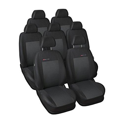 Elegance (E3) (Cucito su Misura) - Set coprisedili Auto (7-posti) - 5902311274413