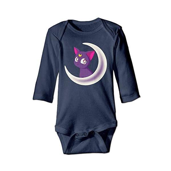 Sailor Moon Crystal Toddler Bodysuits Jumpsuit Onesies Navy 1