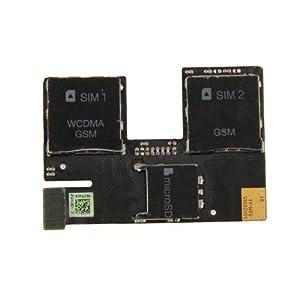 Sim Card Reader Contact Flex Kabel für HTC Desire 500