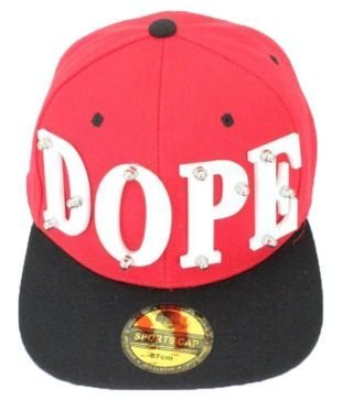 Devil Dope 3D Snapback Hip Hop Cap  available at amazon for Rs.649
