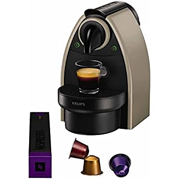 Krups Nespresso YY1540FD Essenza Machines à Café Automatique Taupe (ancien modèle)