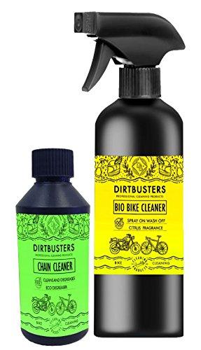 Bio vélo de nettoyage pour chaîne de moto &Nettoyant dégraissant avec seau élimineront munching des microbes et enzymes puissant écologique mountain road bike vélo bmx, moto et de 1 litre &250 ml à haut du seau élimineront off