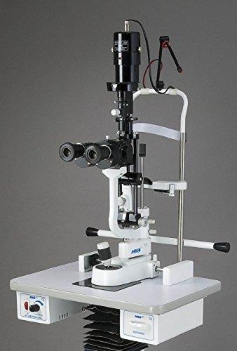 Miko lámpara de hendidura en 5pasos bio-microscope con hacia arriba luz