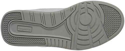 KangaROOS - Advantage Hi, Sneaker alte Unisex - Adulto Weiß (White/Lt Grey)