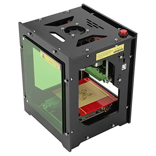 Laser Engraver - 1500mW Stampante per macchina per incisione portatile DIY Art Craft Stampa USB/Bluetooth 550 * 550 Pixel Adatto per IOS/Android / Windows