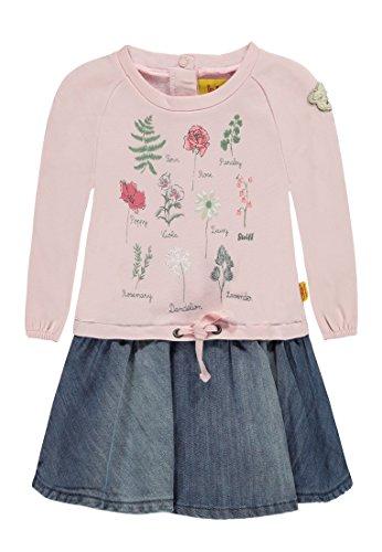 Steiff Baby-Mädchen Kleid 1/1 Arm, Mehrfarbig (Allover 0003), 86