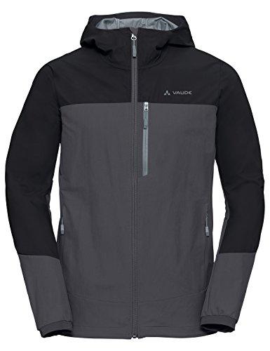 Vaude Herren Men's Skarvan S Jacket Jacke, Iron, XXL - Bereich Kapuze Shell