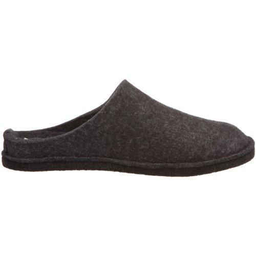 Pantofole Morbide Flap Unisex-adulto Di Haflinger Grigie (grigio / Grafite)