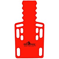 Eisen Ente Ultra Kurz Board spinale Ruhigstellung Rückwand... Hergestellt in den USA., rot, 1