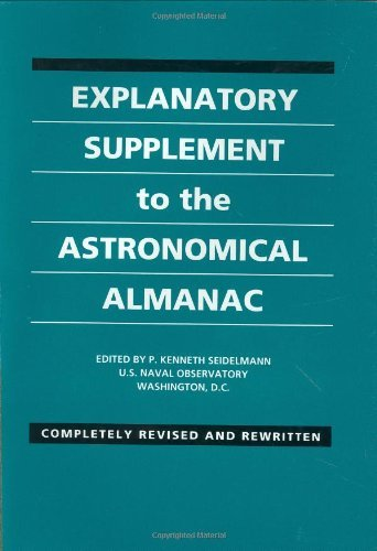 Explanatory Supplement to the Astronomical Almanac (1992-08-30)