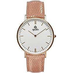 Qudo Eterni Pink/4S/White Women's watch 802523