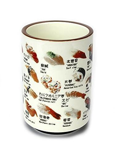 Japanischer Keramik Sushi-Cup?Für Sake, Reiswein oder grün Tee. 1Tasse.
