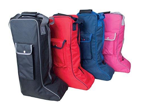 Rhinegold Stiefel lang Reitstiefel Bag Seitentasche