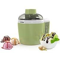 Anself Electrodoméstico - 1 Pint Auto Heladera Eléctrica, Aplicar a Helados/Yogur Congelado/Gelato/Sorbete