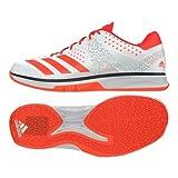 adidas Counterblast Chaussures de Handball Homme, Blanc (Ftwbla/Rojsol/Plamet 000) 48...