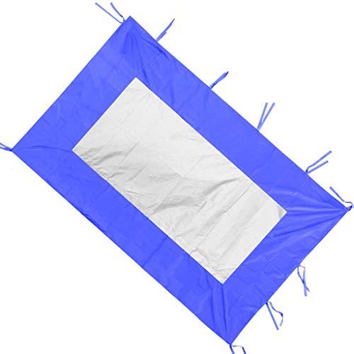 T TOOYFUL Zelt Seitenteil Wasserdicht Seitenwand - Blau B 200x300cm