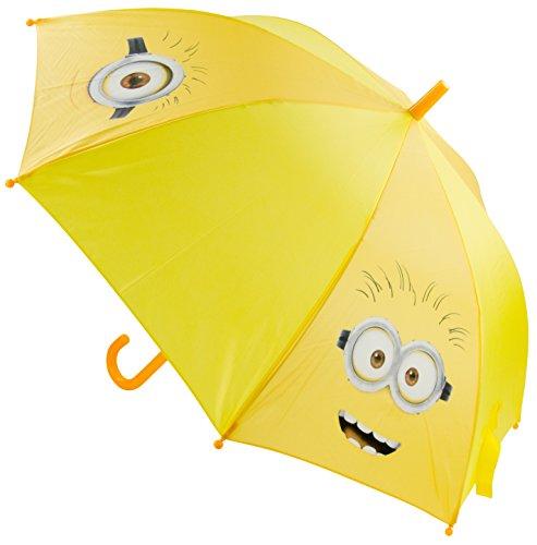 Minions – Paraguas de 48 cm, color amarillo