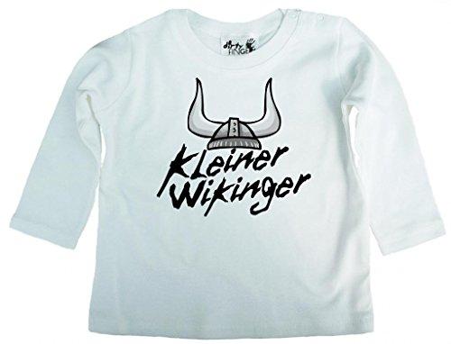Dirty Fingers, Kleiner Wikinger, Jungen T-Shirt langärmlig, 6-12 m, - Wikinger Kleinkind-shirt