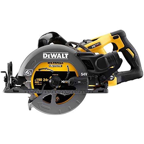 DeWalt - Scie circulaire XR Flexvolt 54V 190mm sans Batterie Ni Chargeur - DCS577N-XJ