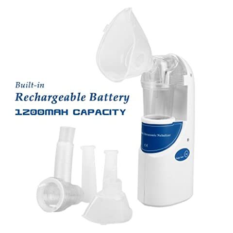 Home Care Wholesale Top Quality Portable Ultrasonic Nebulizer with Rechargeable