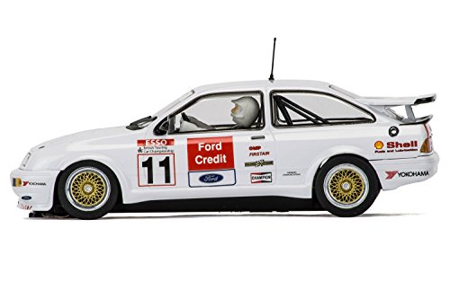 SuperSlot - Coche Slot, Ford Sierra RS500 Rob Gravett (Hornby H3781)