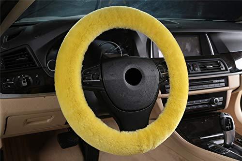 Preisvergleich Produktbild SYXL Auto Griffe Lenkrad Abdeckung Material Handmade Multi-Color Geeignet für Durchmesser 35-43cm (Farbe : M,  größe : Fit 35-43cm)