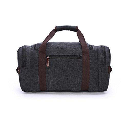 Calvinbi Taschen Damen Herren Große Reisetasche Sporttasche Handgepäck Verpflegungspaket Koffer Hochwertige Gym Tasche Rucksack Outdoor Gepäcktasche Fitness Bag Leiwand Handtasche