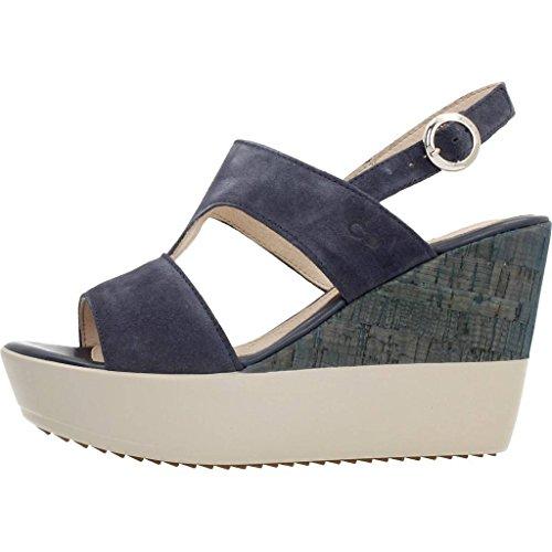Sandali e infradito per le donne, colore Blu , marca STONEFLY, modello Sandali E Infradito Per Le Donne STONEFLY SAINT TROPEZ 13 VEL Blu Jeans