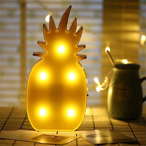 CC6 Night Light Ananas Tir Décoratif LED Lumière Props Rêve Tenture Murale Lampe de Chambre Mignon Chambre de Style de Nuit
