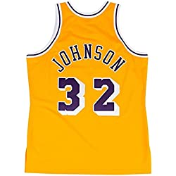Mitchell & Ness Magic Johnson Los Angeles Lakers 1984 – 85 Authentic NBA Camiseta, medium