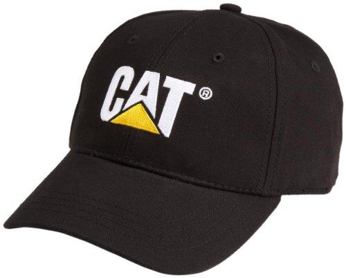 Preisvergleich Produktbild Caterpillar Herren Baseballmütze Schwarz Uni Größe