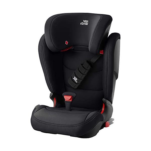 Britax Römer car seat 15-36 kg, KIDFIX Z-LINE Isofix Group 2/3, Cosmos Black Britax Römer Made in germany Outstanding security concept - xp-pad and secureguard Ideal inside dimensions and seat - for extra comfort and excellent ergonomics 1