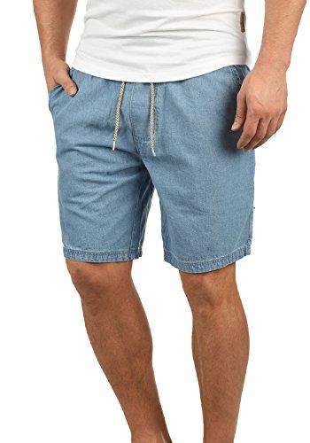 Indicode Aberavon Herren Chino Shorts Bermuda Kurze Hose Aus 100% Baumwolle Regular Fit, Größe:M, Farbe:Mid Indigo (858) (Hose Lila Männer)