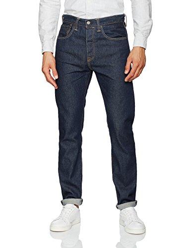 Levi's Herren Jeans 501 Tapered Fit Blau (Noten 45)
