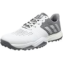 the latest 400b3 5f472 adidas Adipower Sport Boost 3 Scarpe da Golf, Uomo, BiancoArgentoGrigio