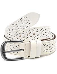 Wifun Mode Breite Echter Ledergürtel Frau Ohne Bohren Luxus Jeans Gürtel  Weibliche Top Qualität Straps Ceinture 113d5b13a7