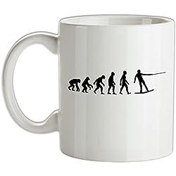 Dressdown Evolution de l'homme WakeBoard - Tasse en céramique 285 ml - Blanc