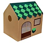 Playhood Kids Big Size Tent House Tree House Theme Handcrafted - Green And Brown