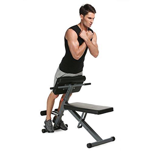 Tomasa Back Trainer Panca Fitness per Addominali e...