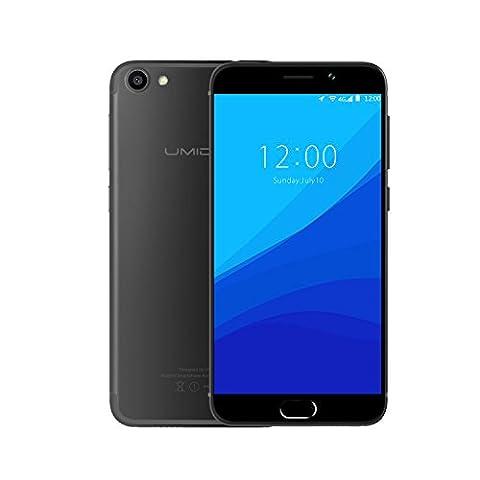 UMIDIGI G Handy Android 5.0 Zoll (12,7 cm) 4G Dual