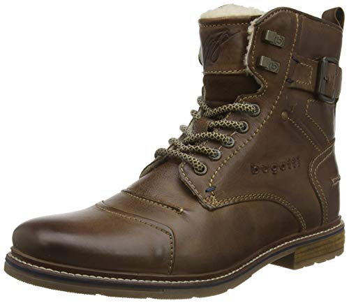 bugatti Men's 321622513200 Ankle Boots Brown Size: 9 UK