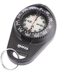 Mares Erwachsene Handy kompass Instrument COMPASS, Schwarz, BX, 414504