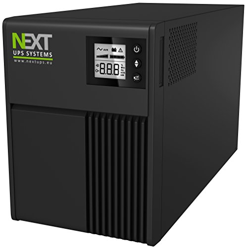 Next UPS Systems Mantis II Tower Line-Interactive 750 VA Tower Black – Uninterruptible Power Supplies (UPSs) (Line-Interactive, Tower, 0 – 40 °C, 55/65, Black, 0 – 90%)
