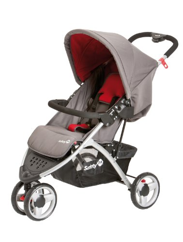 Safety 1st 11105421 - Easy Go - Sportiver Buggy und Travelsystem, Red mania